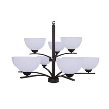 <strong>Yosemite Home Decor</strong> Alta Peak 9 Light Chandelier