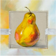 Revealed Artwork Fruit of the Day II Original Painting on Canvas