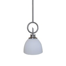 <strong>Yosemite Home Decor</strong> Sierra Point 1 Light Mini Pendant
