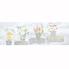 Revealed Artwork Perfect Posies I Original Painting on Canvas