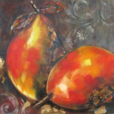 <strong>Yosemite Home Decor</strong> Revealed Artwork Ripened Fruit I Wall Art