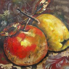 <strong>Yosemite Home Decor</strong> Revealed Artwork Ripened Fruit II Wall Art