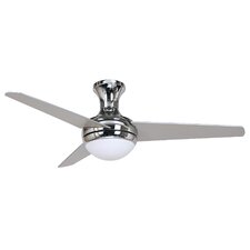 "48"" Adalyn 3 Blade Ceiling Fan with Remote"