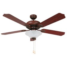 "<strong>Yosemite Home Decor</strong> 52"" Whitney 4 Blade Ceiling Fan"