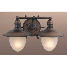 Nautical 2 Light Vanity Light