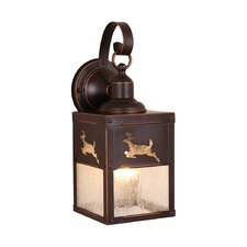 <strong>Vaxcel</strong> Yellowstone 1 Light Outdoor Wall Lantern