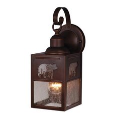 Yellowstone 1 Light Outdoor Wall Lantern
