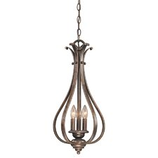 Monrovia 3 Light Foyer Pendant