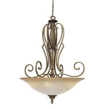 Avignon 5 Light Inverted Pendant