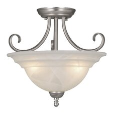 "Babylon 14"" Semi Flush Mount"
