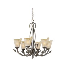 <strong>Vaxcel</strong> Capri 6 Light Chandelier