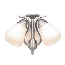 Yellowstone Three Light Ceiling Fan Light Kit