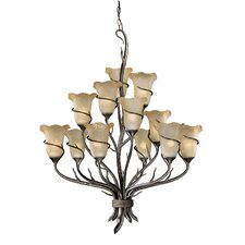 <strong>Vaxcel</strong> Monterey 12 Light Chandelier