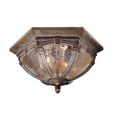 Essex 2 Light Outdoor Flush Mount