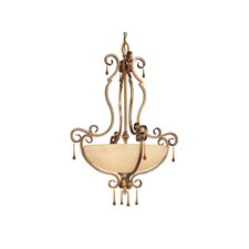 Versailles 5 Light Inverted Pendant