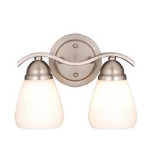 <strong>Vaxcel</strong> Inns Brook 2 Light Vanity Light