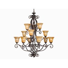 <strong>Vaxcel</strong> Modena 12 Light Chandelier