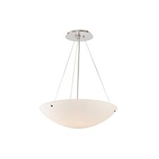 Milano 3 Light Inverted Pendant