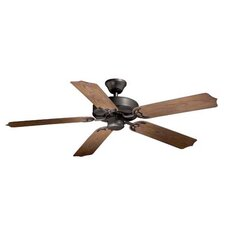 "52"" Medallion 5 Blade Outdoor Ceiling Fan"
