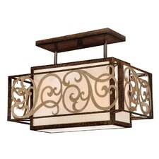 Ascot Semi Flush Mount