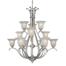 Monrovia 12 Light Chandelier