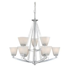 <strong>Vaxcel</strong> Kendall 9 Light Chandelier
