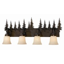 Yosemite 4 Light Vanity Light
