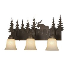 <strong>Vaxcel</strong> Yellowstone Indoor 3 Light Vanity Light