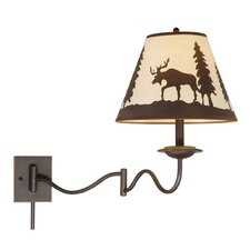 <strong>Vaxcel</strong> Yellowstone Swing Arm Wall Sconce