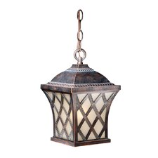 Yorkshire 1 Light Outdoor Pendant