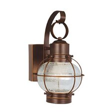 <strong>Vaxcel</strong> Chatham LED Outdoor 3 Light Wall Lantern