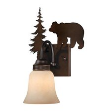 <strong>Vaxcel</strong> Bozeman 1 Light Wall Sconce