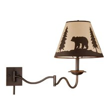 <strong>Vaxcel</strong> Bozeman Swing Arm Wall Sconce