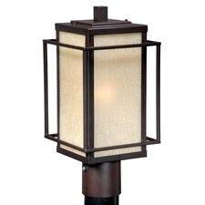 <strong>Vaxcel</strong> Robie 1 Light Outdoor Post Lantern