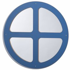 "26"" H x 26"" W Window Circle Mirror"
