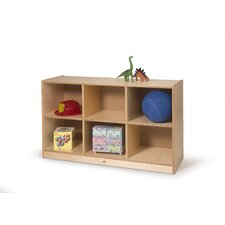 6 Cubby Storage Cabinet