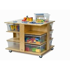 Twelve Tray Cubby Tower