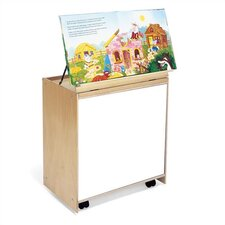 "26"" Big Book Storage with Marker-Board Back"