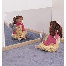 "<strong>Whitney Brothers</strong> 24"" x 48"" Rectangular Mirror"