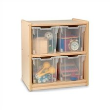 Jumbo 4 Tray Storage Unit