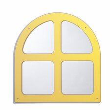 "25"" H x 25"" W Window Keystone Mirror"