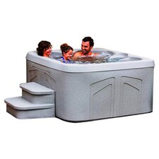 4 Person 20 Jet Simplicity DLX Plug and Play Spa