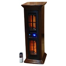 Life Pro Air Commander All Season Tower Features Ionizer Air System  Cooling Fan Air Oscillator & Infrared Heater w/Remote