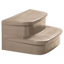LifeSmart Discovery Matching Sandstone Spa Steps