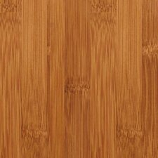 "Studio Floating Floor 7-11/16"" Horizontal Bamboo Flooring in Caramelized"