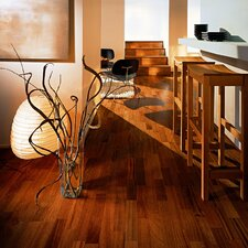 "World Naturals 3-Strip 7-7/8"" Engineered Jatoba La Paz Flooring"