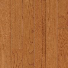 "<strong>Mullican Flooring</strong> St. Andrews 2-1/4"" Solid Oak Flooring in Gunstock"