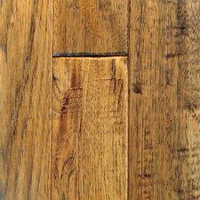 "Knob Creek Hand Sculpted 4"" Solid Hickory Flooring in Saddle"