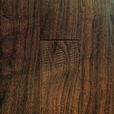 "Chalmette Hand Sculpted 5"" Engineered Walnut Flooring in Colonial"