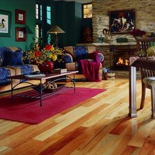 "Jacks Creek 3-1/4"" Solid Hickory Flooring in Natural"